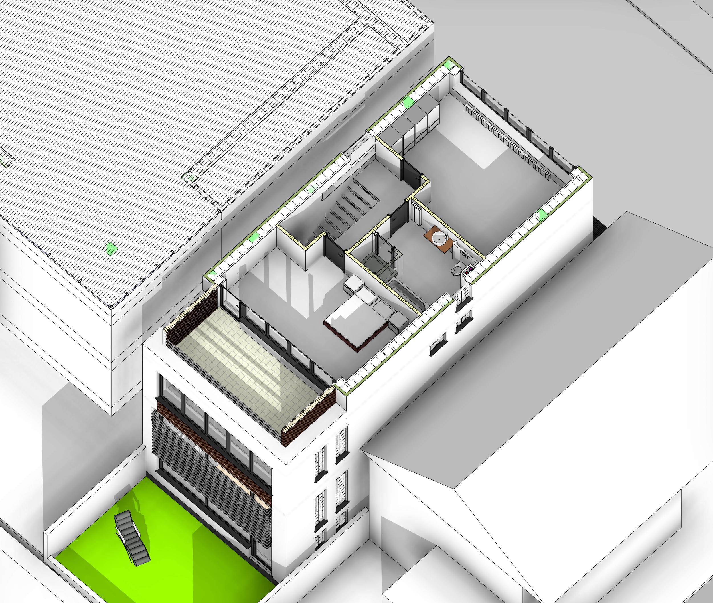 plan 3d etaj 2