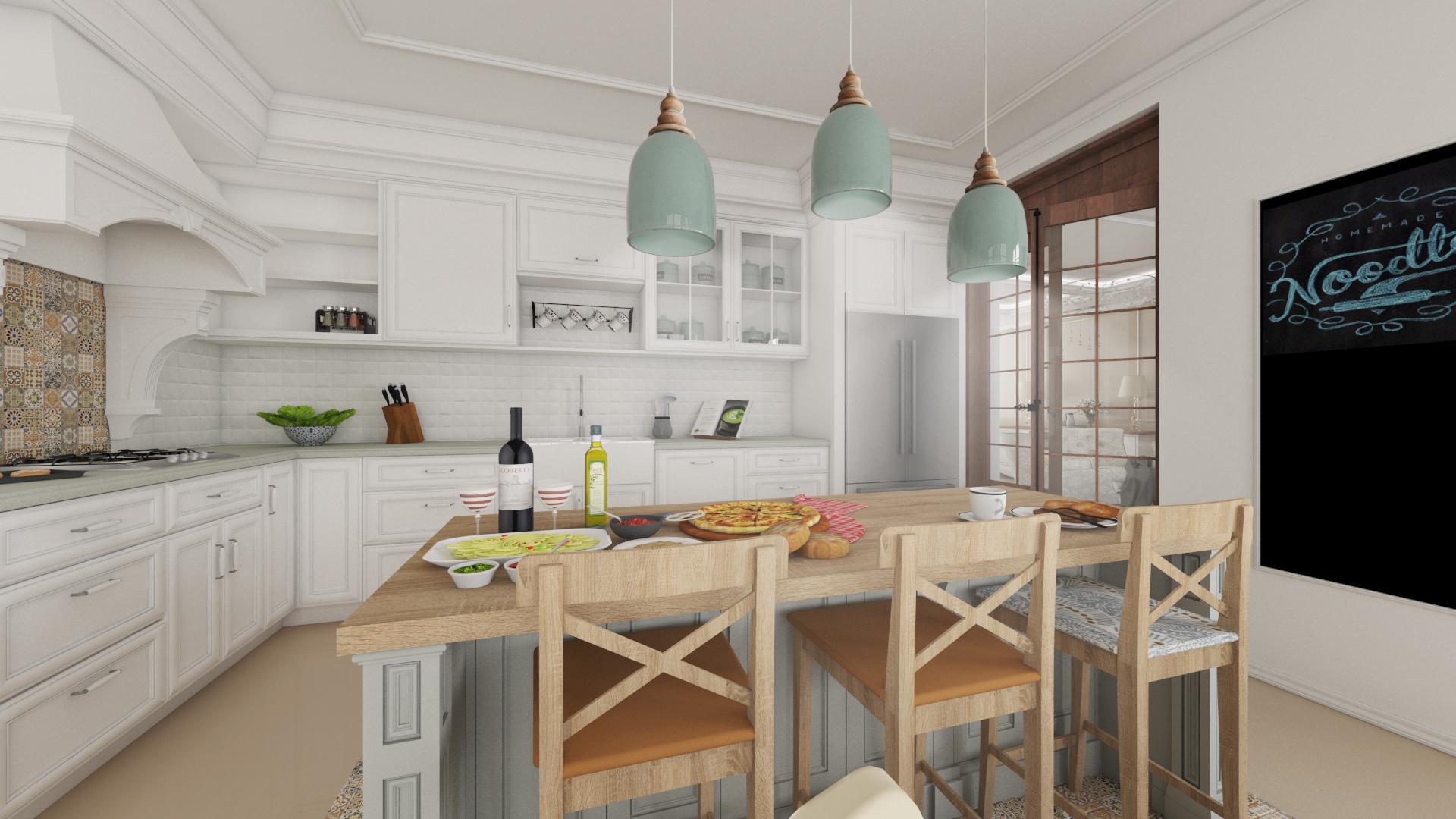 design-interior-french-retro-Bucatarie