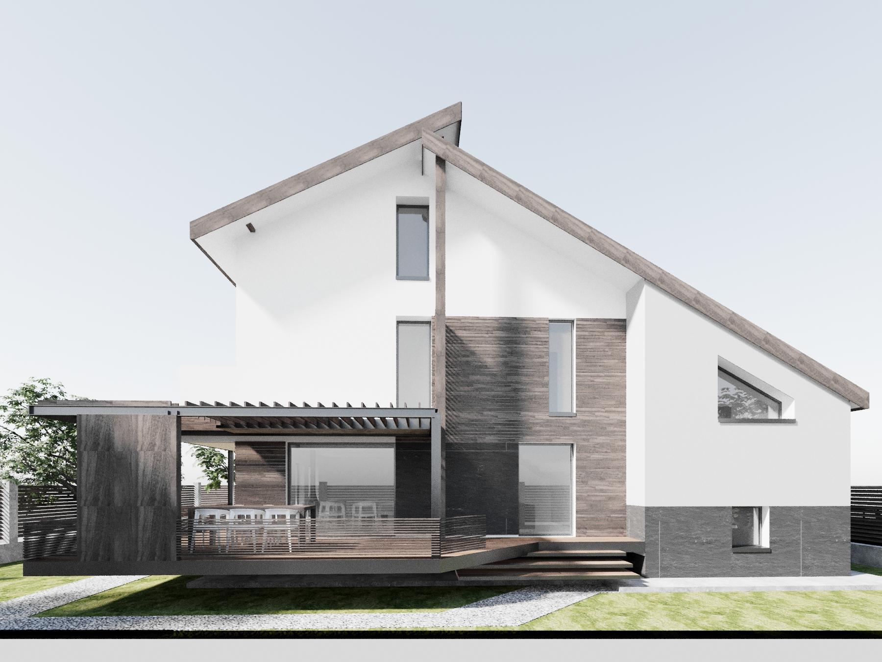 modificare casa existenta sisesti reflex architecture ForModificare Casa