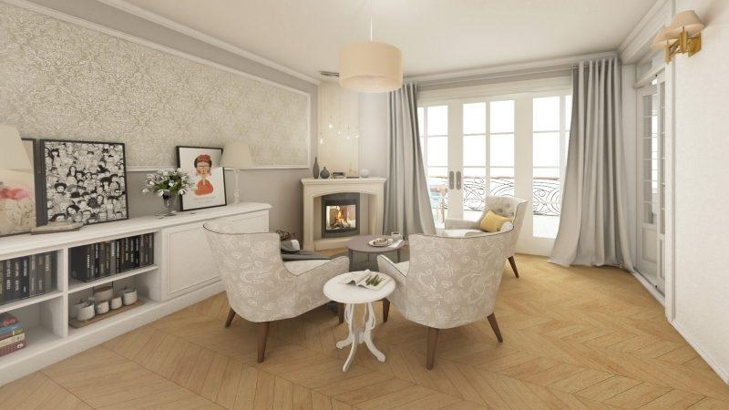 design interior french retro 2