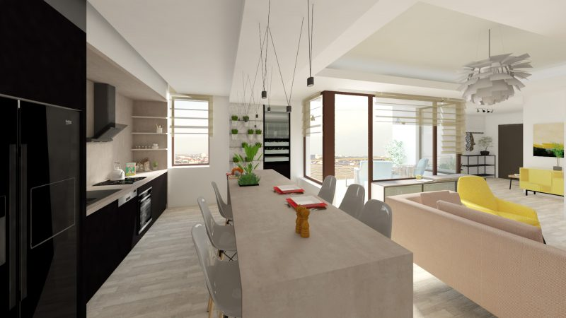 DESIGN INTERIOR GT PIPERA-Bucatarie-03