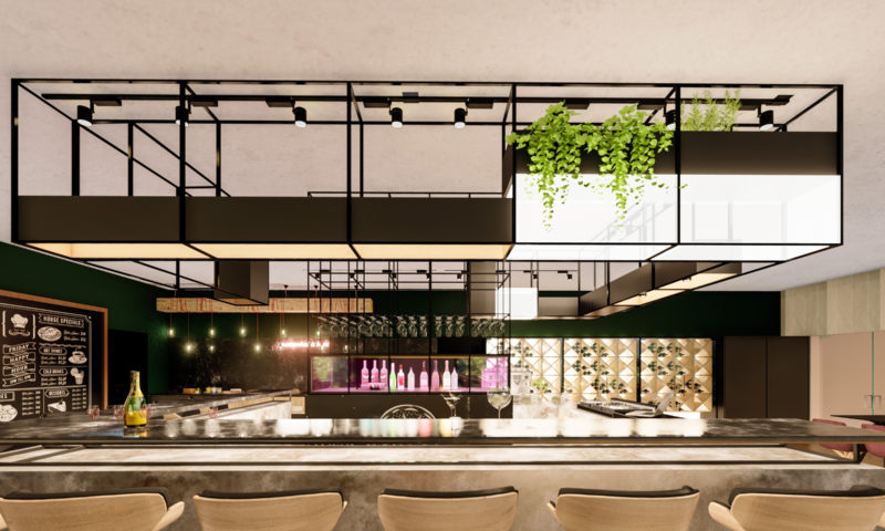DESIGN INTERIOR RESTAURANT W