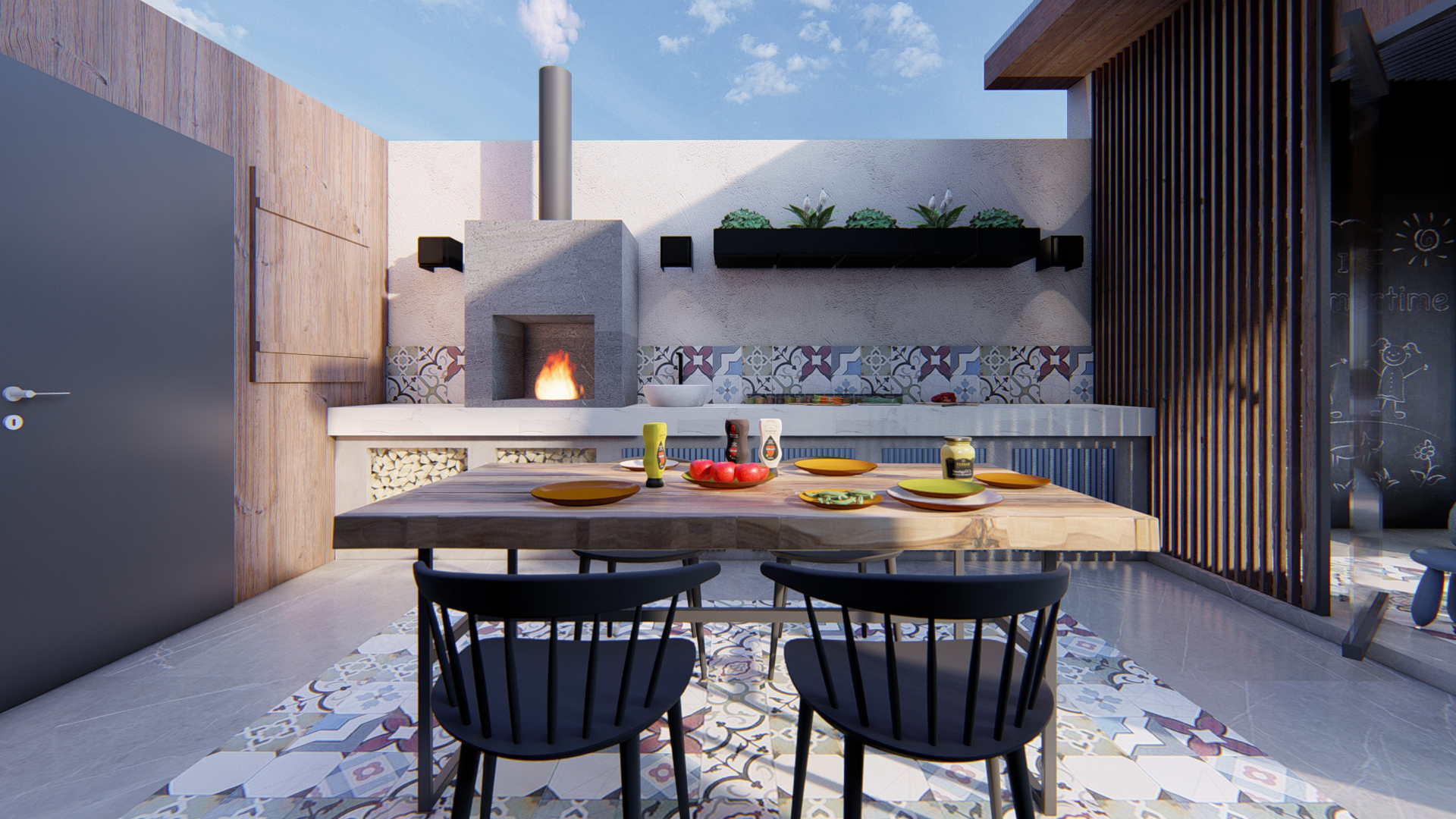 OUTDOOR KITCHEN 001